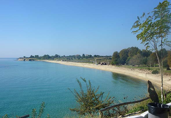 ai yiannis beach in Sithonia