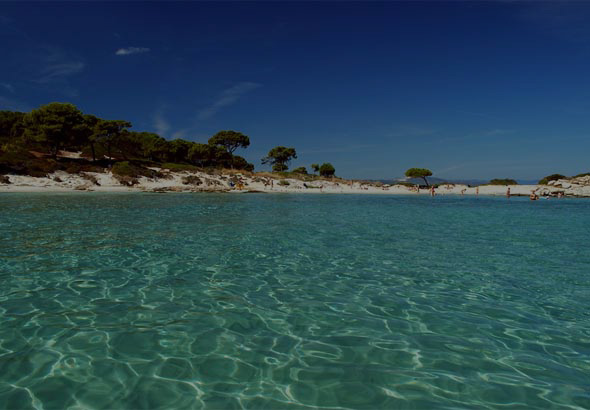 Karydi beach in Sithonia