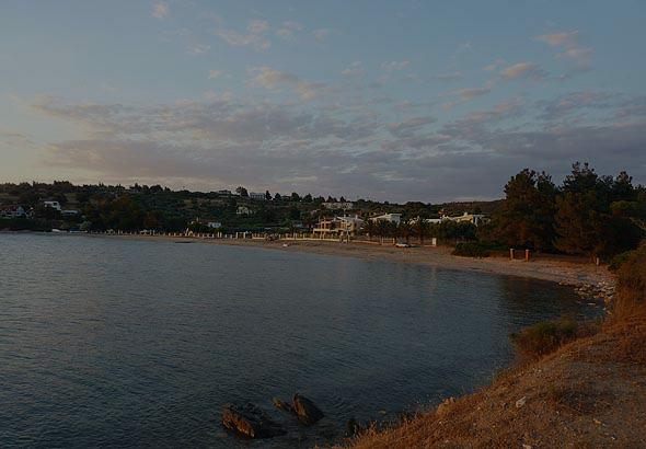 Kastri beach in Sithonia