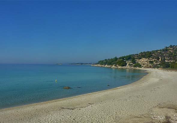 Koviou beach in Sithonia